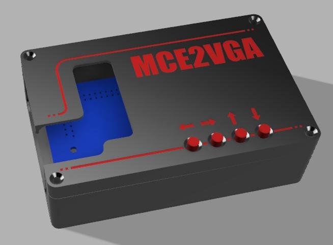 MCE2VGA Enclosure Design